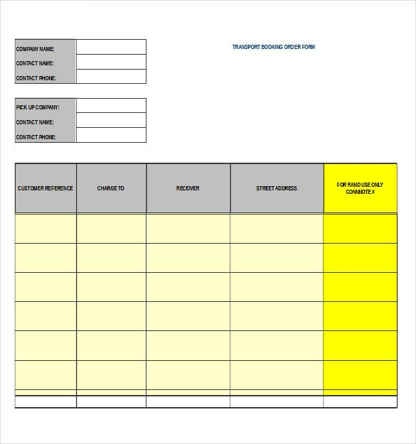 15+ Work Order Templates – Free, Sample, Example, Format Download ...