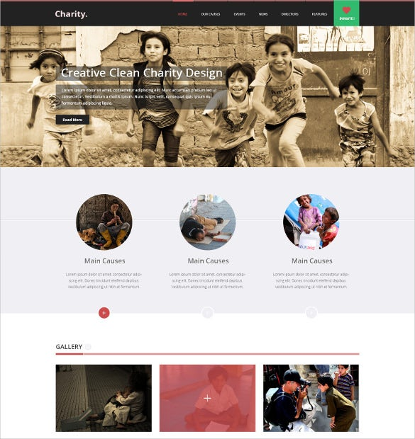 multi purpose non profit psd theme 10