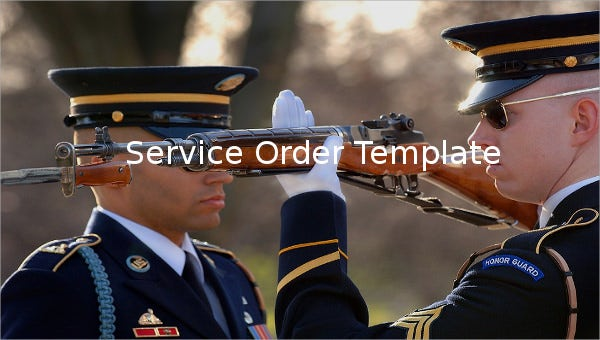 service order template