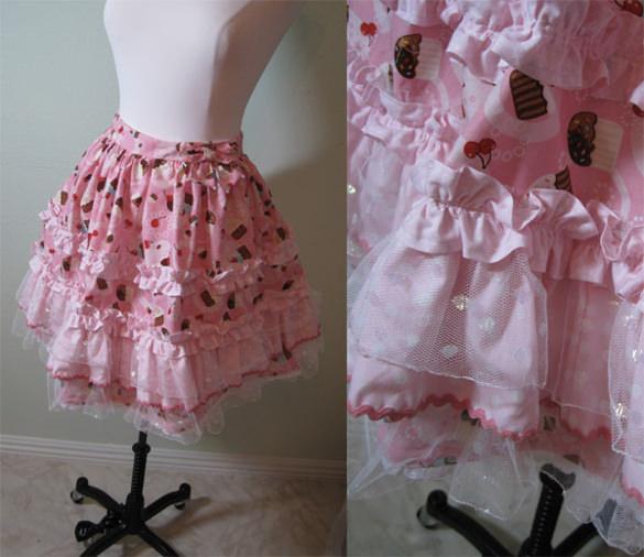 cupcake skirt pattern