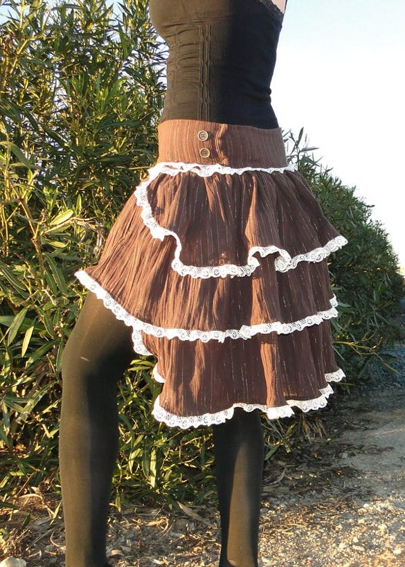 steampunk skirt pattern