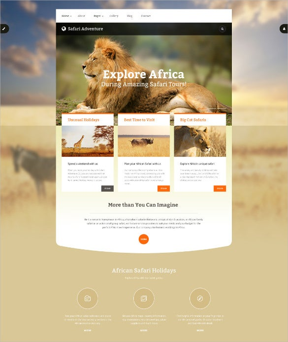 adventure animal pet joomla template