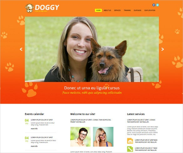 wild life animal pet joomla template