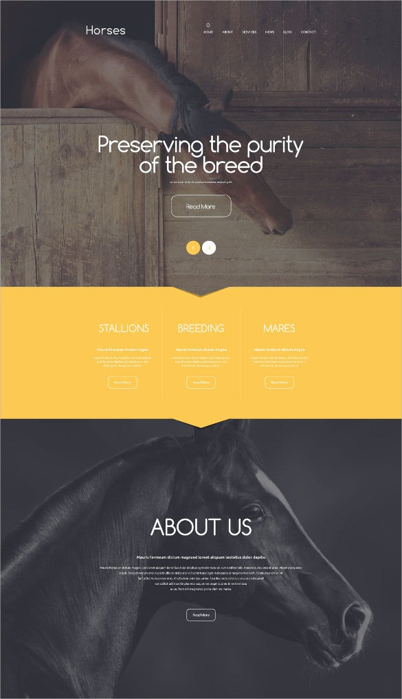 animal pet stud farm drupal template