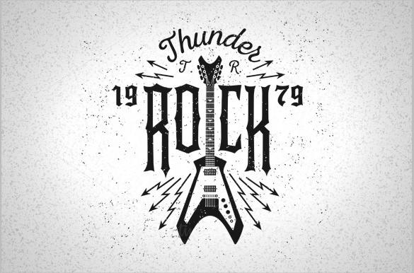 thunder rock music logo download