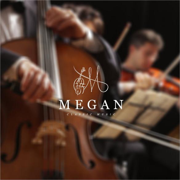 monogram music logo download