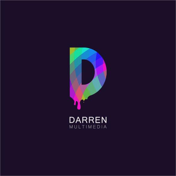 colourful 22d22 music logo design