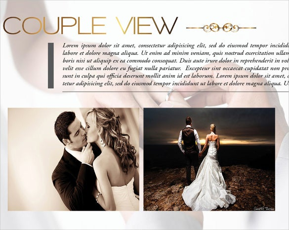 Print Ready Wedding Album Template For Download  Free Album Templates