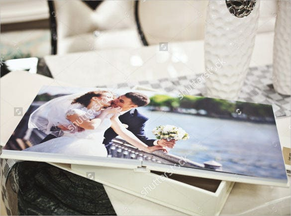 easy to download wedding album template