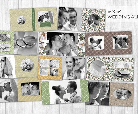 elegant stylish wedding album download