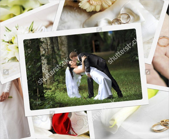 specially designed wedding album template for download