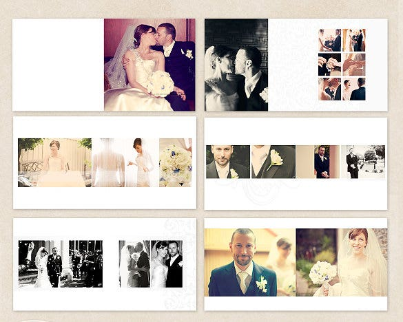 wedding album design sample