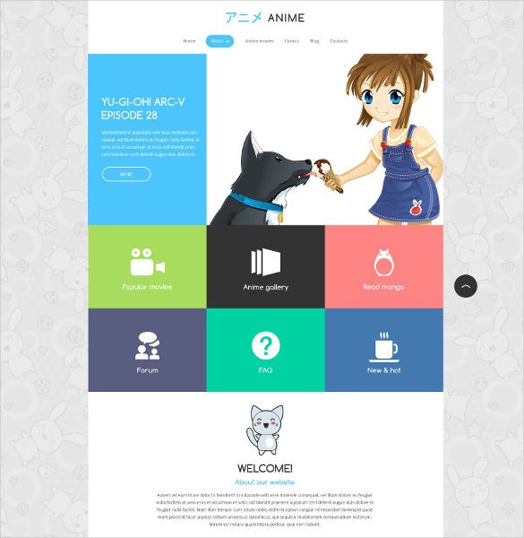 animal pet movie responsive drupal template