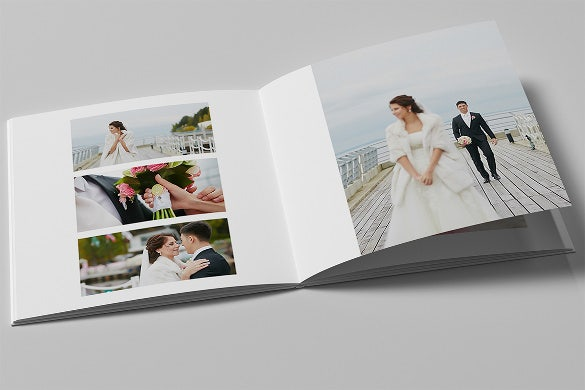 wedding album template for easy download