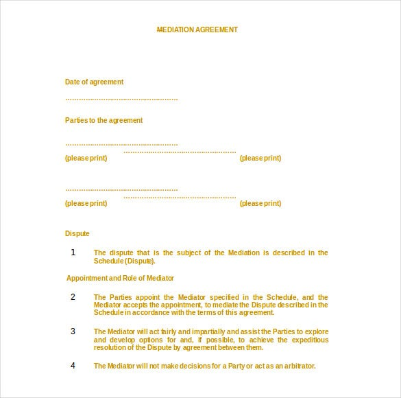 mediation confidentiality agreement