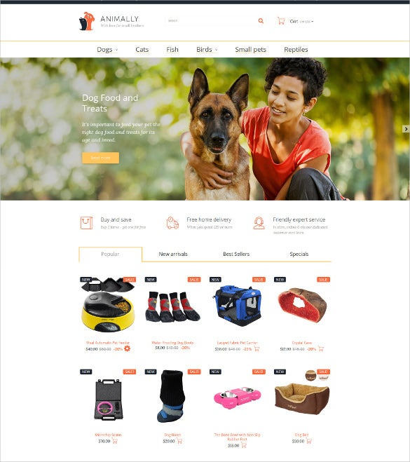 animally prestashop blog theme