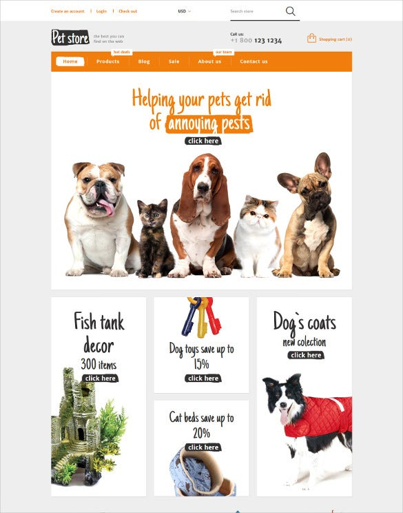 animals pets shopify blog theme