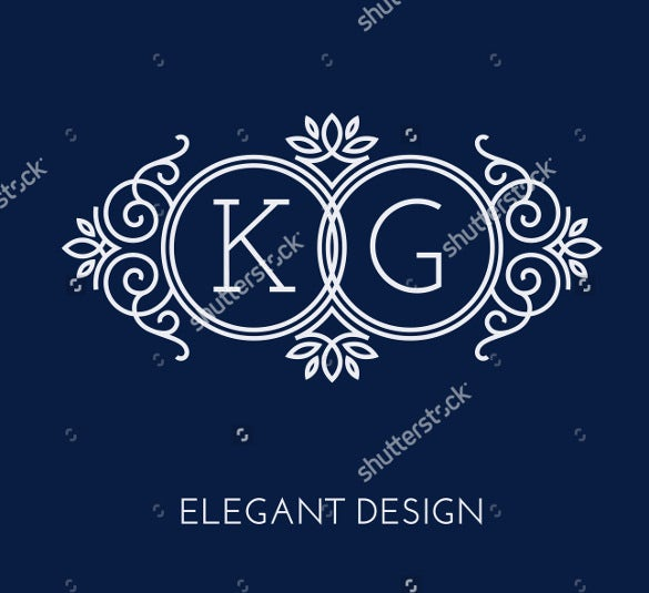 two letters wedding logo design download