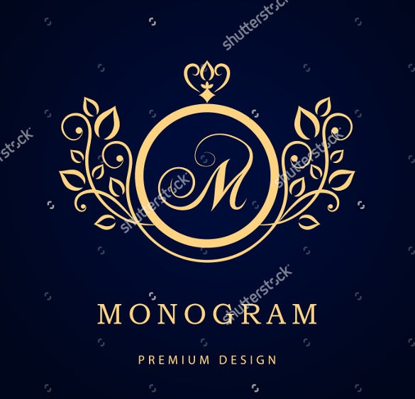 premium wedding logo design for download