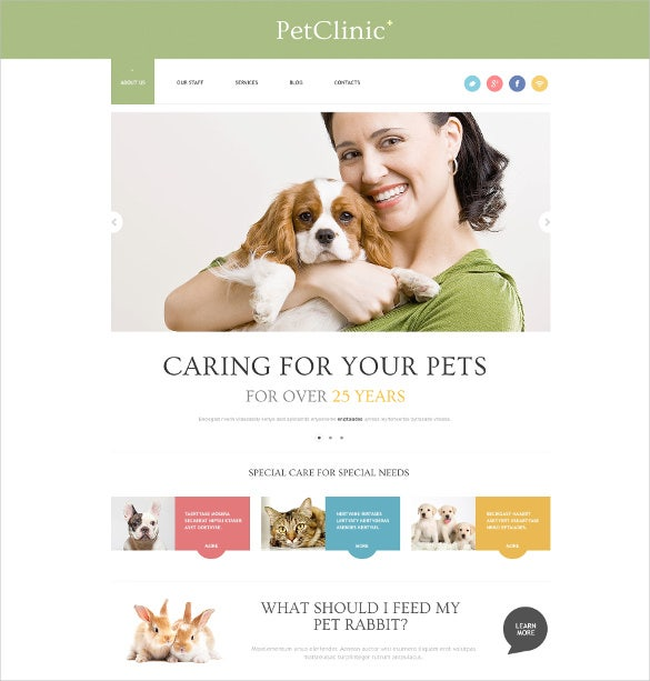 successful animals pets wordpress blog theme