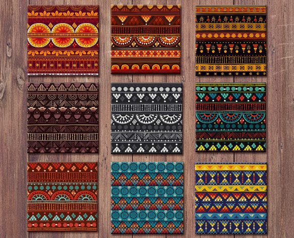 fabric tribal pattern download