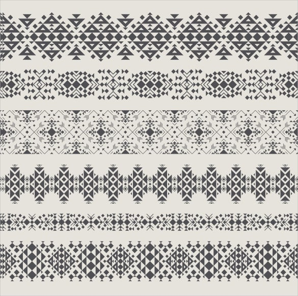 tribal seamless vector pattern