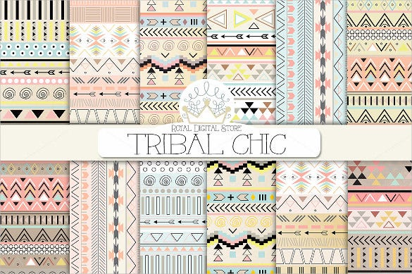 tribal chic pattern