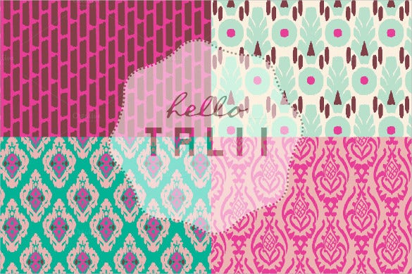 pink ikat tribal pattern download