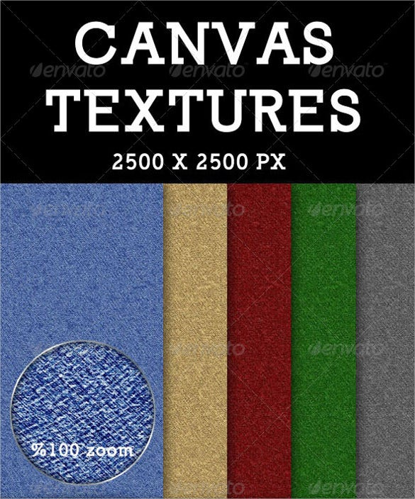 10 canvas texture design set download