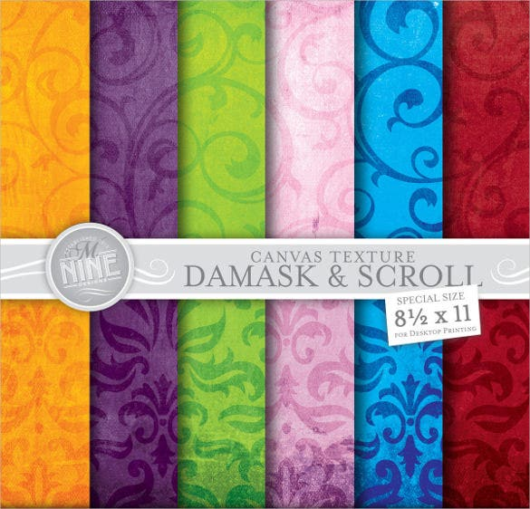 damask canvas texture download