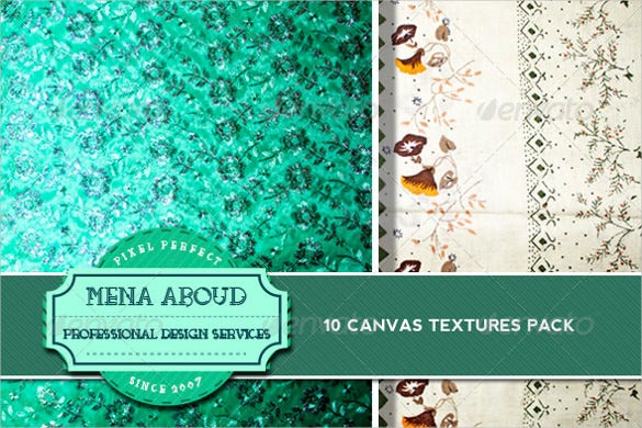 10 fabric canvas textures pack download