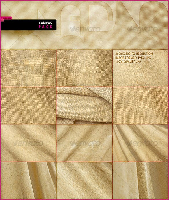 12 canvas texture design pack download