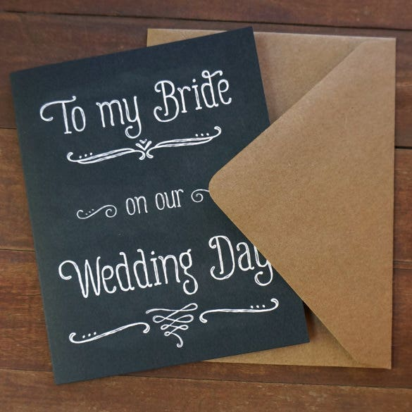 wedding card template for download