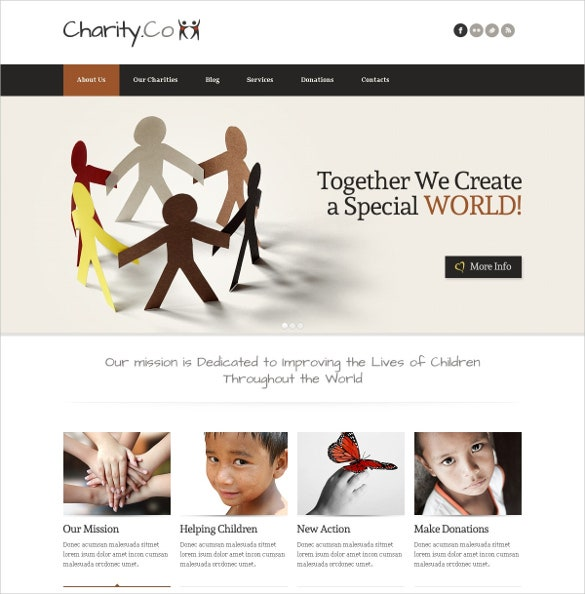 child charity non profit joomla template 67