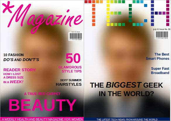 magzine newspaper template ppt format download