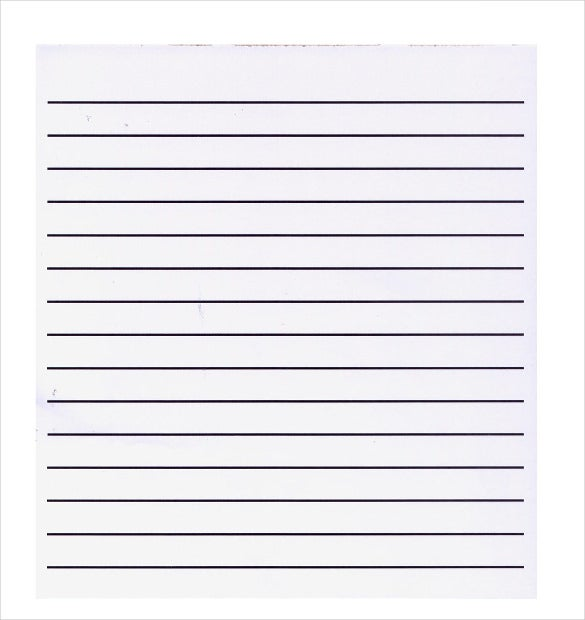 Image gallery lined paper a4 template for Red line printing