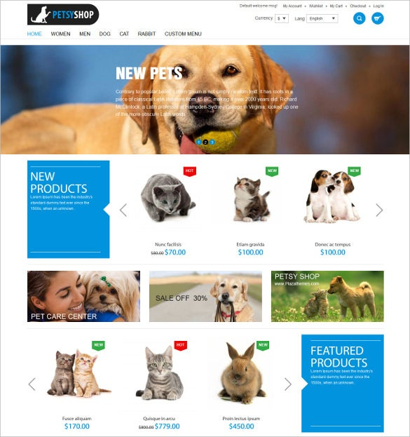 animal petsy shop responsive magento theme 89