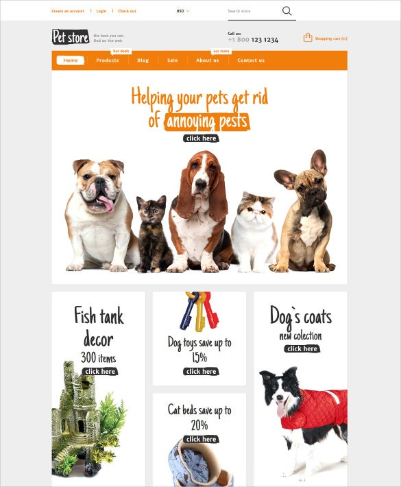 animals pets shopify html5 theme