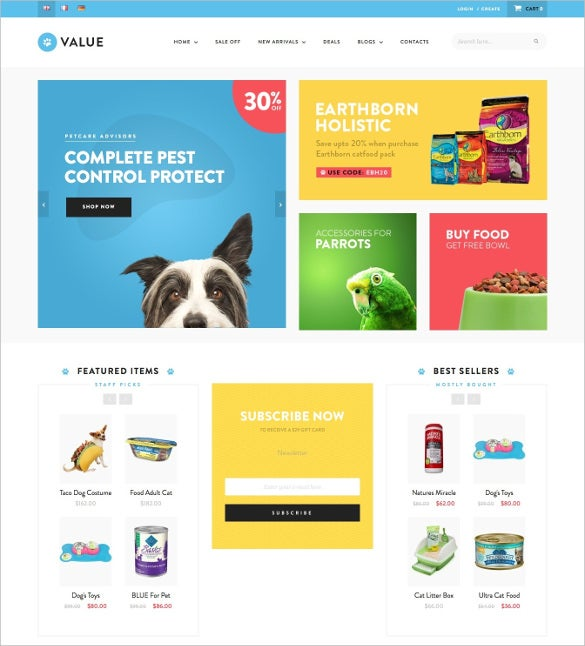 animal pet valueshop responsive theme 84
