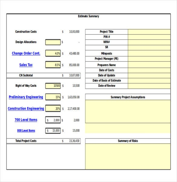 14+ Construction Order Templates – Free Sample, Example, Format