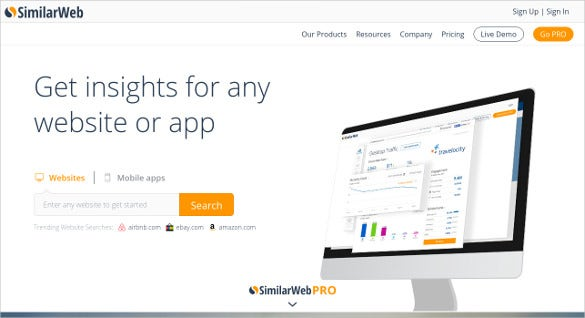 similarweb content analysis tool