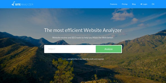 site analyzer content analysis tool