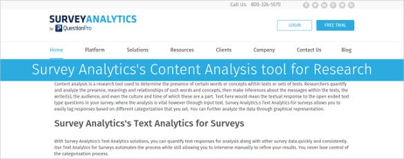 18+ Content Analysis Tools & Softwares | Free & Premium Templates