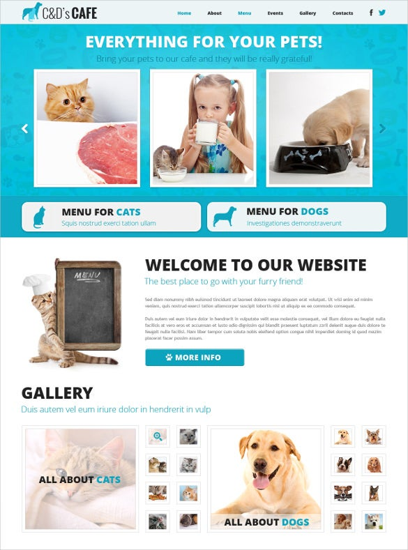 animal pet shop responsive joomla bootstrap template