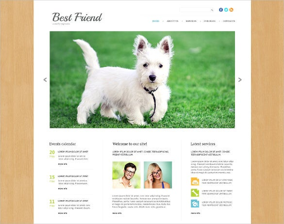 responsive animal pet bootstrap joomla template