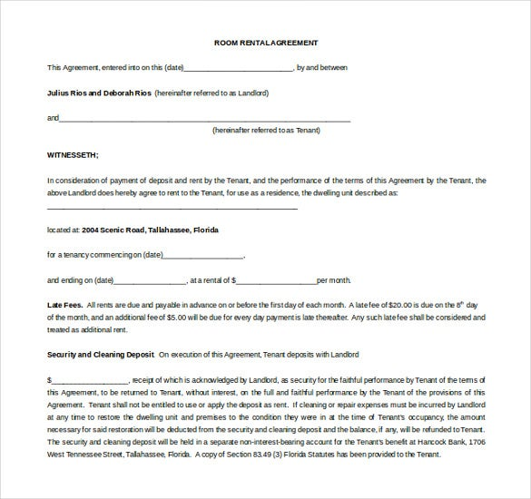 Doc400544 Microsoft Rental Agreement Template House Lease – Microsoft Rental Agreement Template