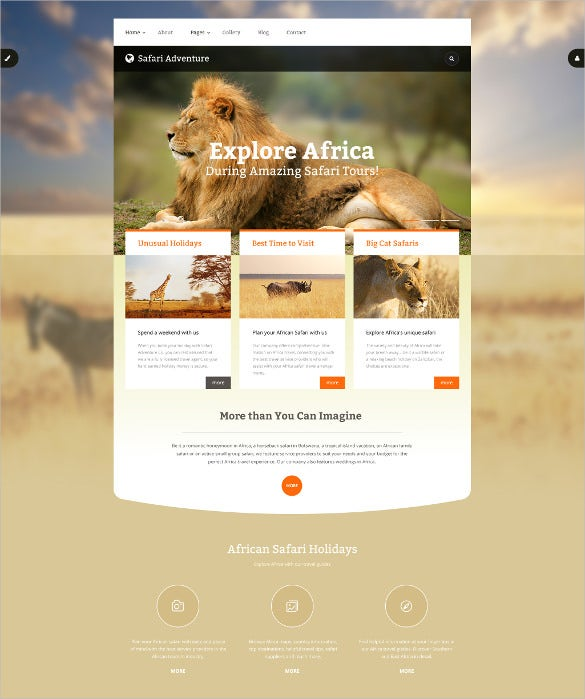 adventure animal pet joomla php template