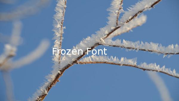 frozenfont