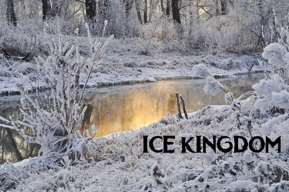 ice kingdom frozen font download