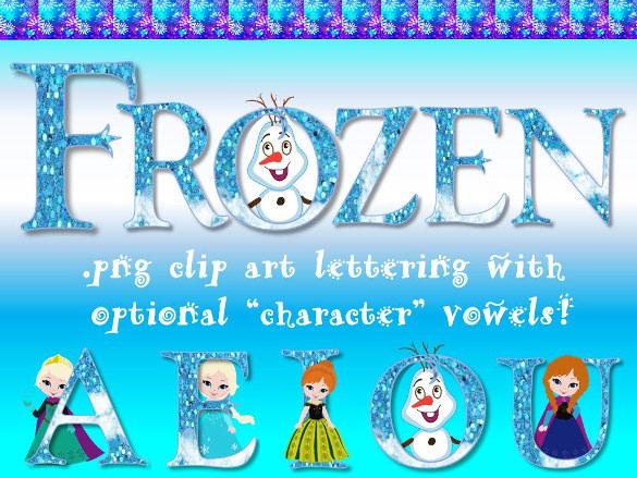 disney frozen font download